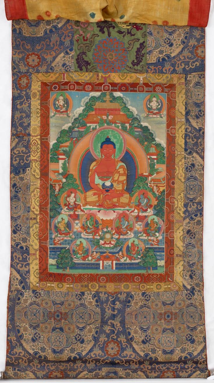Thangka of Amitabha Buddha