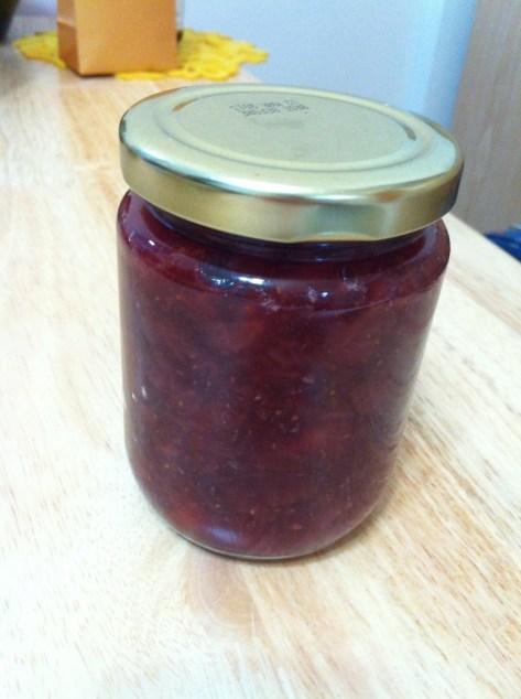 草莓果醬 homemade strawberry jam