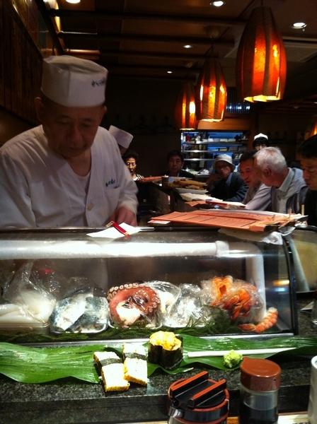 上野傳統手握壽司