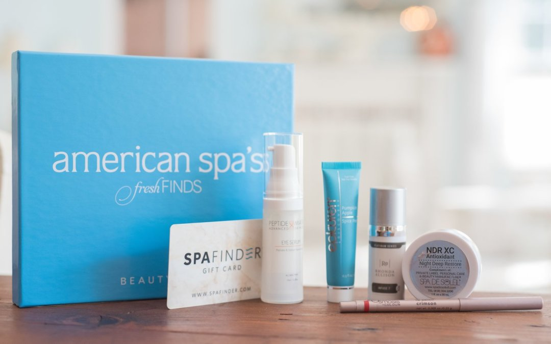 American Spa Fresh Finds Beauty Box – September