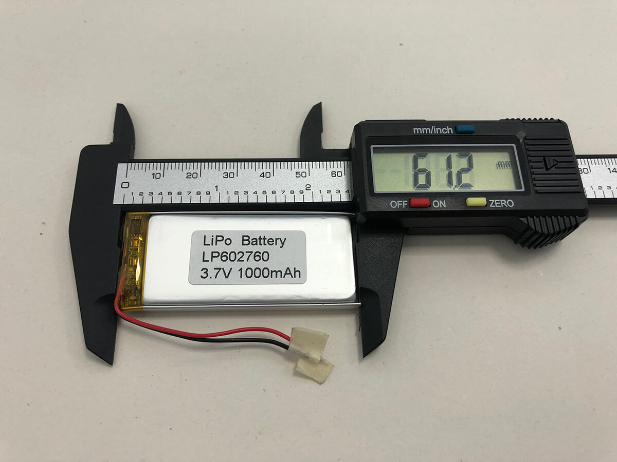 Small And Dead Lipo Battery With The Protection Circuit