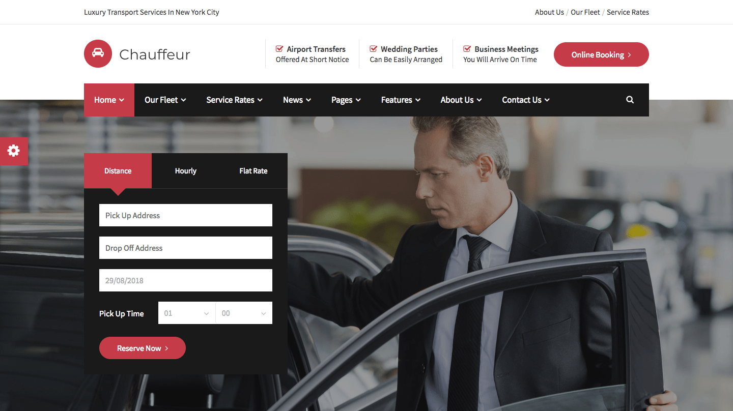 Chauffeur - Limousine, Transport And Car Hire WP Theme.png