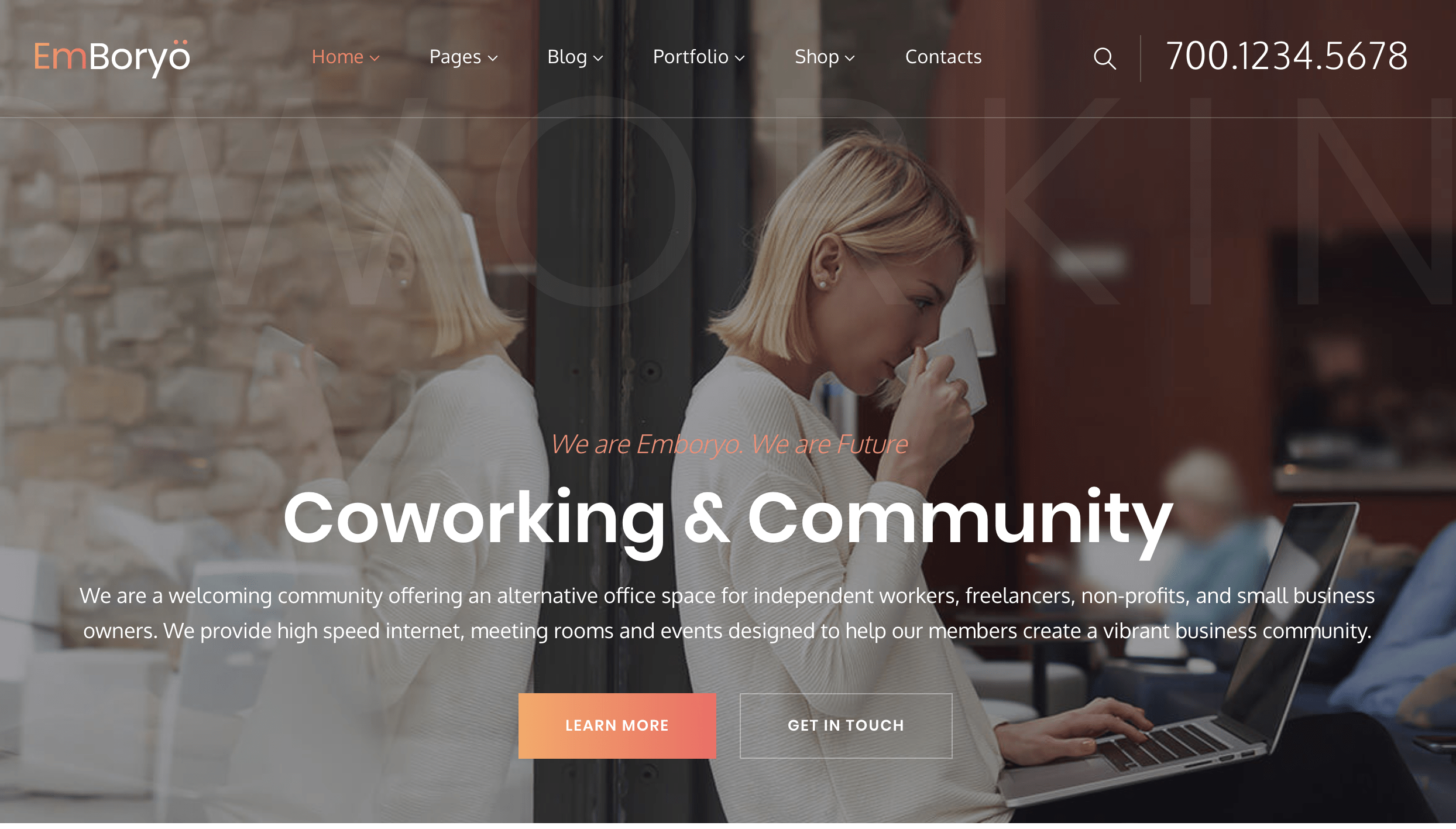 EmBoryo | Agency & Startup WordPress Theme for Professionals.png
