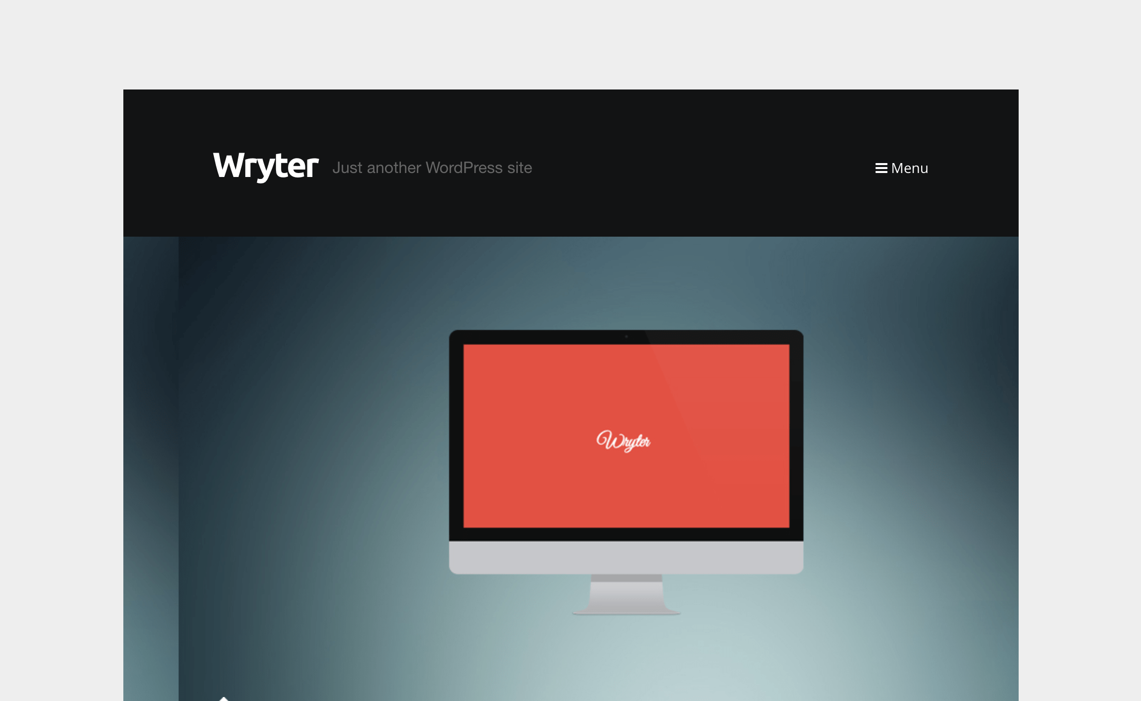 Wryter - Simple Personal Blog.png