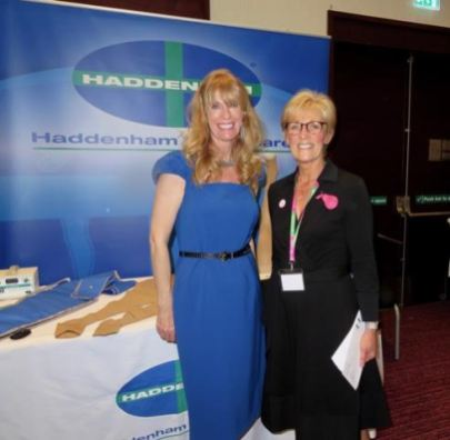 Lynn Finch of Haddenham and Denise Hardy