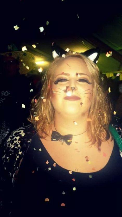 karneval fasching lipödem mode katze