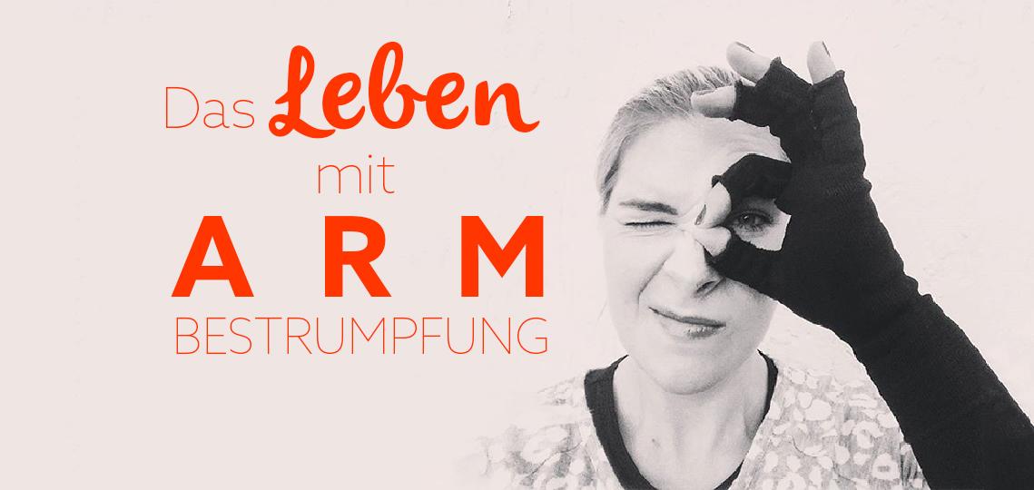lipoedem mode schwarz medi armbestrumpfung armstruempfe