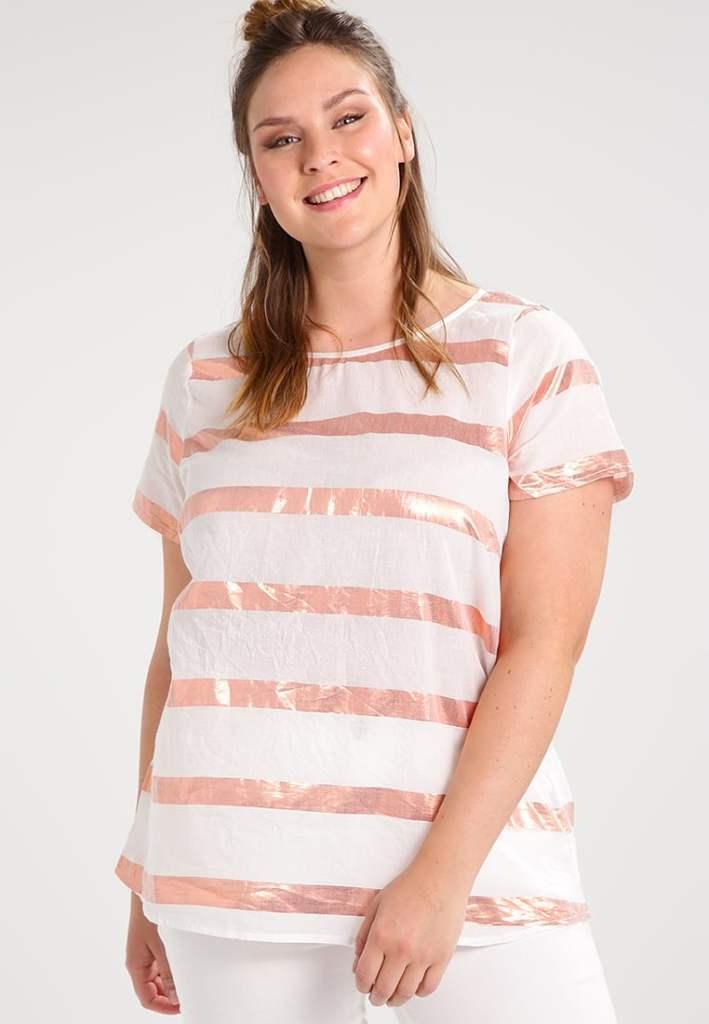 lipoedem mode luna largo athleisure roségold tshirt