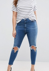 lipoedem mode jeans riped plus size asos curve