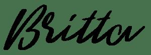 Handschrift Britta