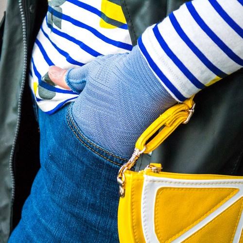 lipoedem mode jeansblau zitrone outfit luna largo caroline sprott medi jeans lipodema lipoedma lipedema lmyphoedem lymphodema lemon
