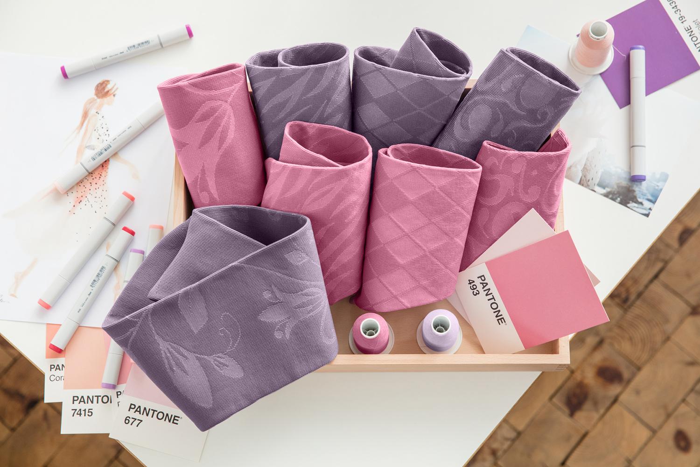 lipoedem fashion trend colors 2018 by medi pattern purple pink flower flat knit lipoedema lymphedema lymphoedema lipodema