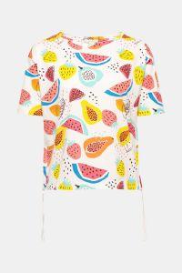 Frucht-Muster Shirt