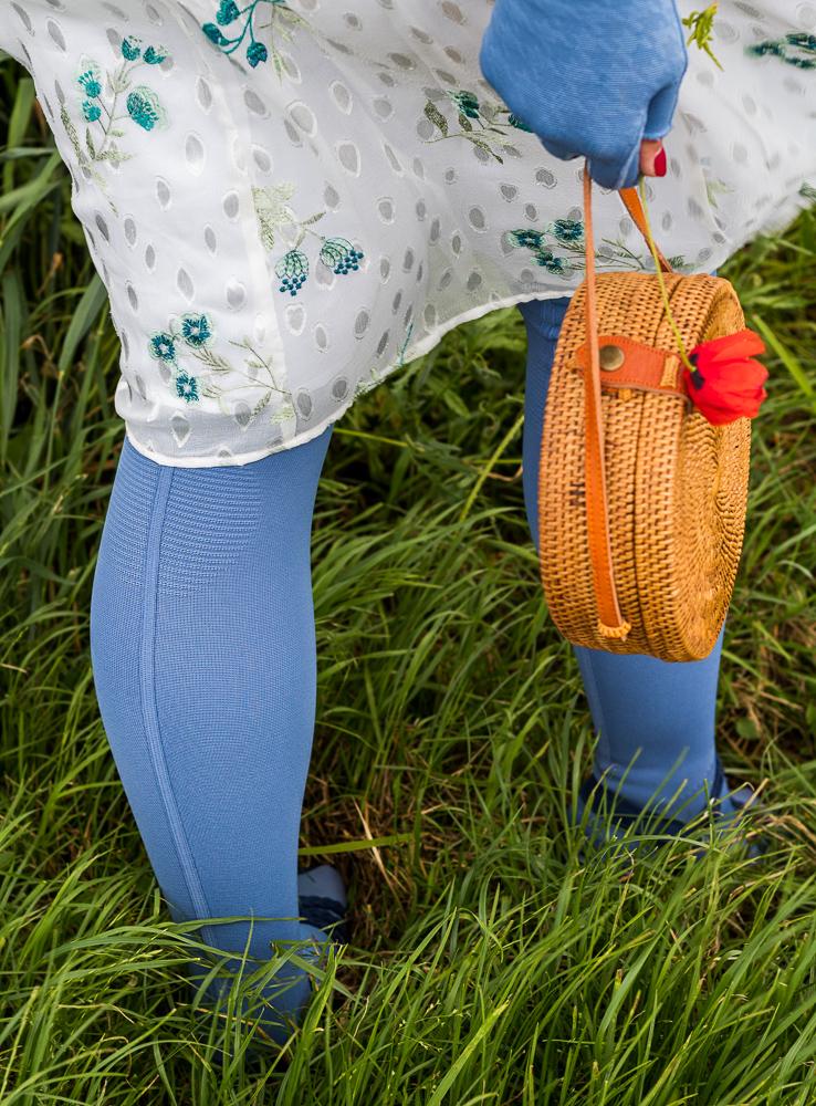 Lipödem Mode Outfit Jeansblau Caroline Sprott