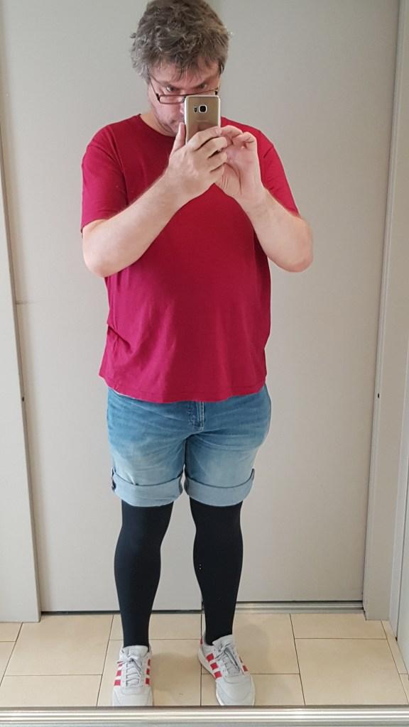 lipoedem fashion flat knit in shorts man