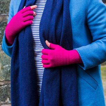 Lipödem Mode Plus size casual blau magenta medi mediven 550 armbestrumpfung kompression lymphödem outfit caroline sprott