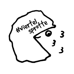 #viertelsprotte logo lipedema slimming instagram
