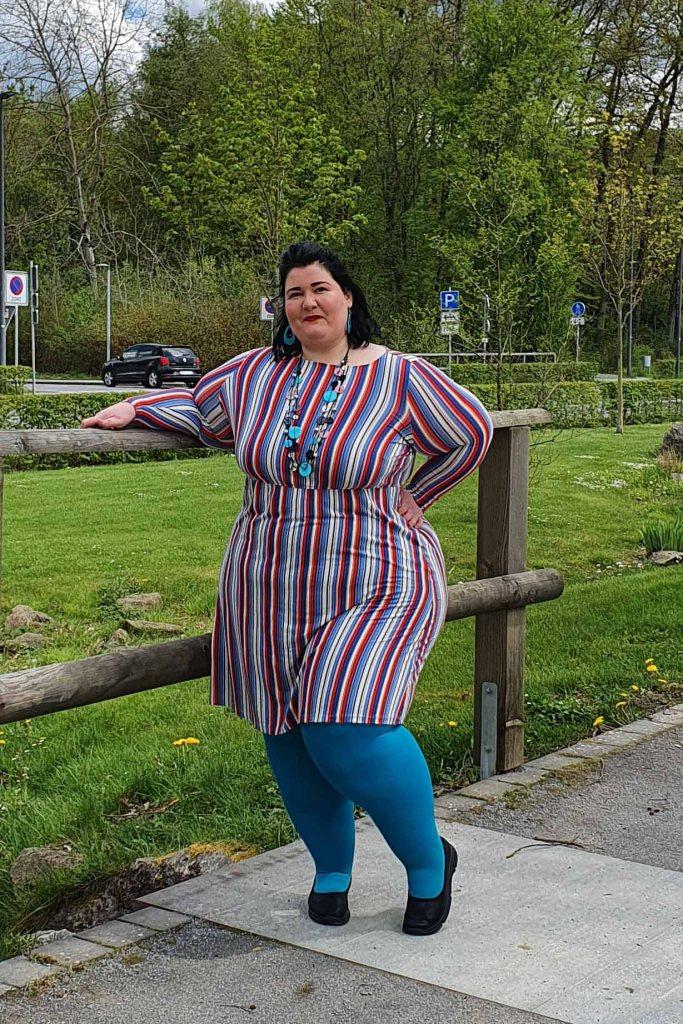 lipoedem fashion bauerfeind colors venotrain curaflow plus size outfit flat knit compression_2
