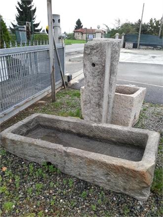 Fontane per giardino pietra di luserna granito  Pietra