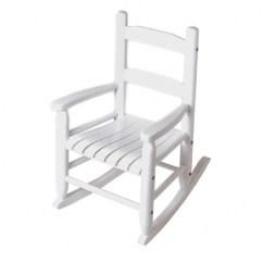 Children Rocking Chairs Table Walmart Child S Chair White Lipper International