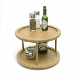 Revolving Easy Chair Sleeper Ikea Bamboo Turntable, 2-tier | Lipper International Lazy Susans