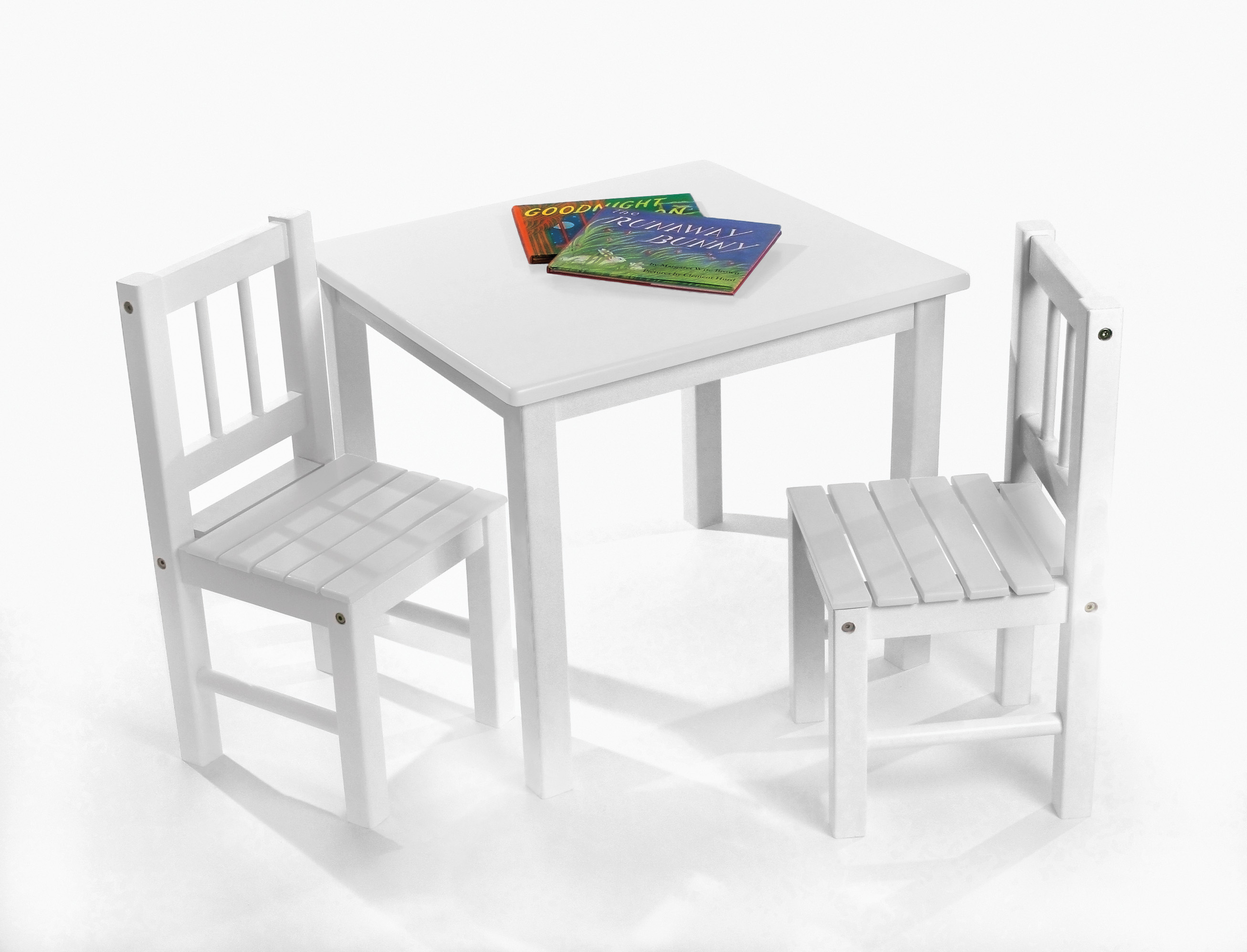 3 piece table and chair set best bean bag chairs reddit child s white lipper international