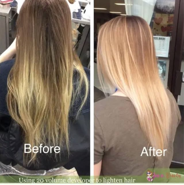 20 and 30 volume developer to lighten hair - Which one for ...