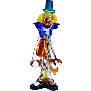 <small><b>Murano Glass Clown</b></small>