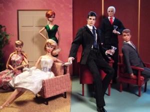 Barbies - Mad Men Split Scene