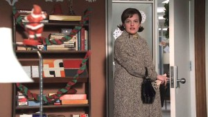Christmas Comes But Once a Year - Peggy enters her office