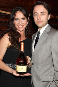 Janie Bryant and Vincent Kartheiser at the Remy Martin event