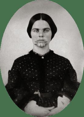 Olive Oatman, 1857