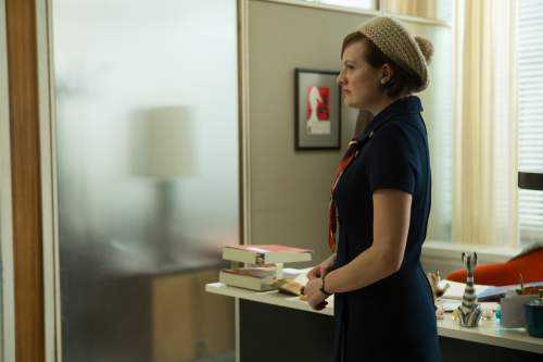 "Mad Men ""Time Zones"" Peggy at the office"