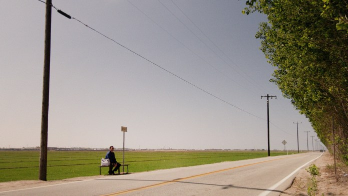 Mad Men, The Milk and Honey Route, Don waits for a bus