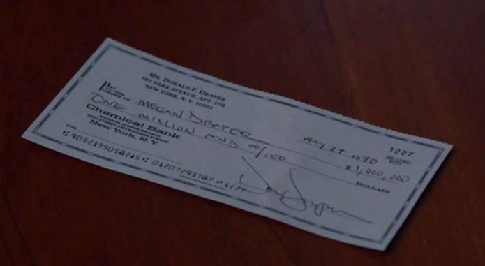 million dollar check 207e09
