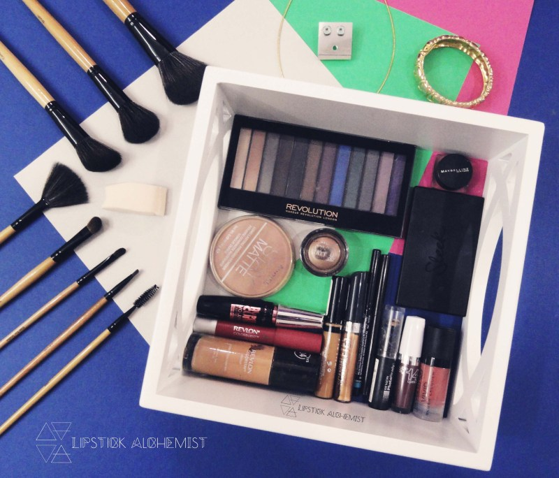 Makeover Flatlay products used