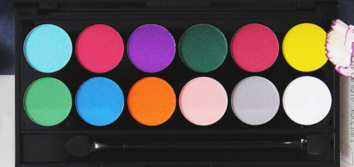 Sleek i-Divine Ultra Mattes V1 Brights Palette Swatch Review Pics