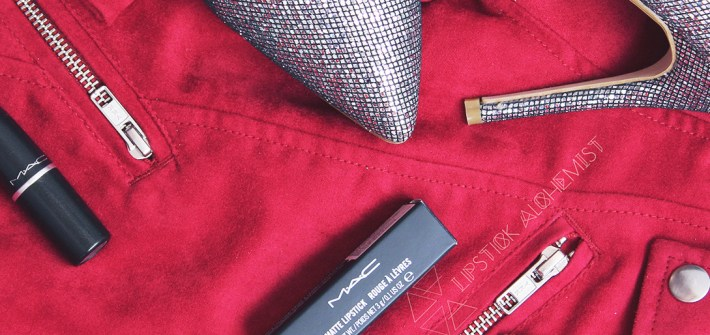 MAC D For Danger Fall Deep Red Lip Christmas Holiday Matte Lipstick Nykaa India