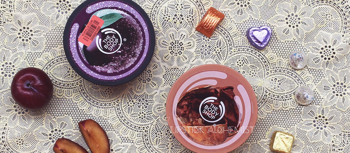The Body Shop Body Butters Review Frosted Plum Cocoa Butter Nykaa Purplle India