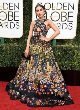Olivia Culpo in Zuhair Murad Gown; Best Dressed Golden Globes 2017