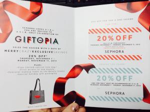 Sephora VIB Sale Fall 2013