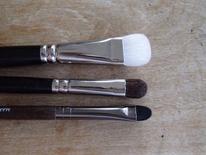 Eye Brushes: Flat