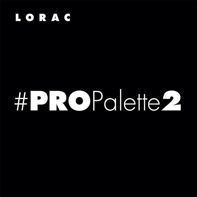 Lorac Pro Palette 2 Release