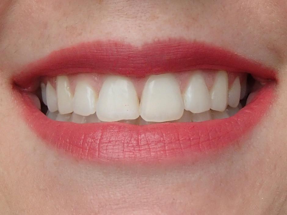 Givenchy Le Rouge lip swatch - Corail Decollete