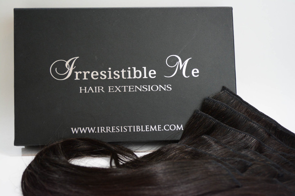 Irresistible Me Silky Touch Hair Extensions Natural Black