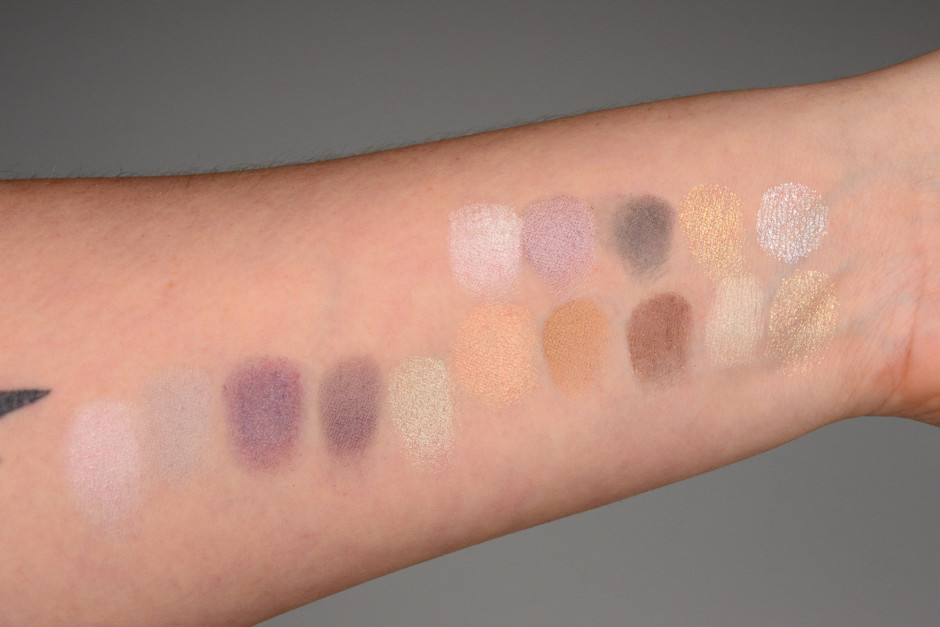 Dior 5 Couleurs Swatches - Constellation, Golden Snow, Golden Flower