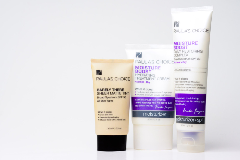 Skincare - turning it over to the pros