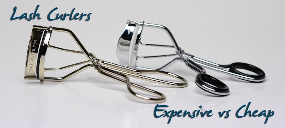 Expensive vs Cheap Lash Curlers