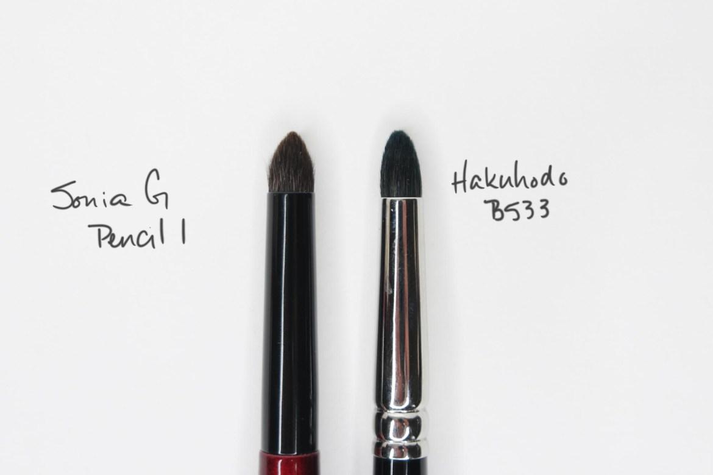 Sonia G Pencil 1 vs Hakuhodo B533