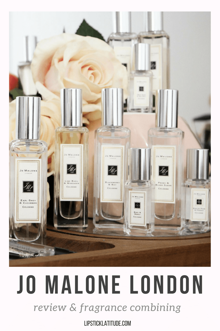 Jo Malone fragrance combining and review